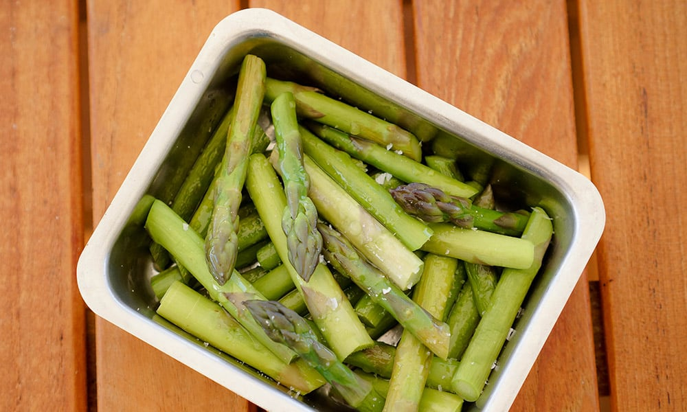Asparagus with Olive Oil & Lemon