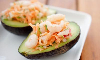 Stuffed Avocado Halves