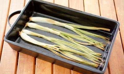 Roasted Green Onions