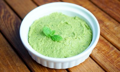 Mashed Peas with Mint