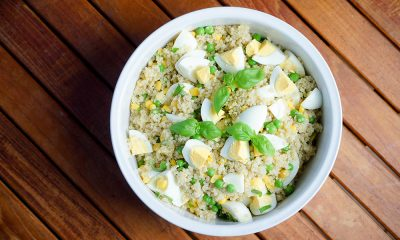 Simple Quinoa Salad with Peas