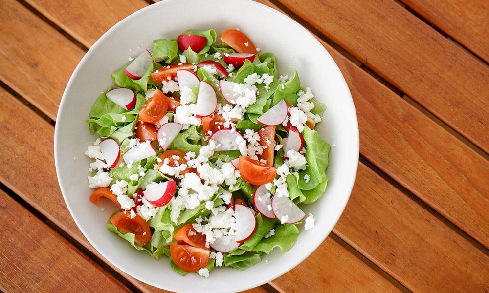 Radishes in Salads