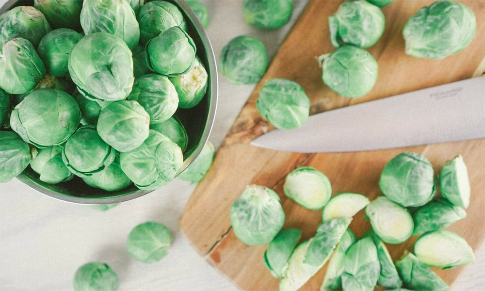 Real Food Basics Week 1 - Brussels Sprouts